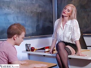 Russian sexual intercourse bomb Casca Akashova is teaching her favorite student how to satisfy girls