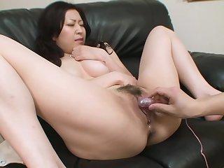 Prudish pussy oriental comprehensive is pleasured