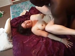 Husband Sharing His Cuckolding Wife With Black Tripe
