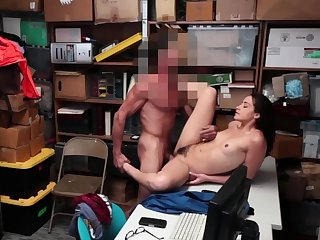 Teen rides huge cock and milf Suspect was apprehended