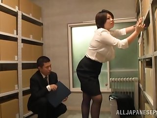 Japan of age gets laid at the office
