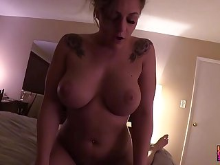 Blackmailed My Neighbors THICC Great White Father Milf Get hitched