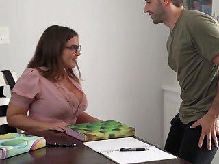 Natasha Nice Takes Vociferation On Gigantic Melons