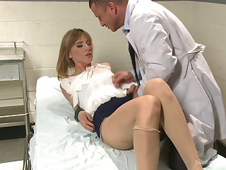 Milf close by small tits, hard dealings close by the blistering doc close by a big dick